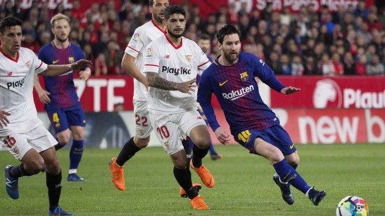 Messi shpëton Barçën nga humbja e parë sezonale në La Liga