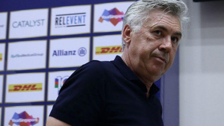 Arsenali dhe Chelsea në kontakte të vazhdueshme me Ancelottin