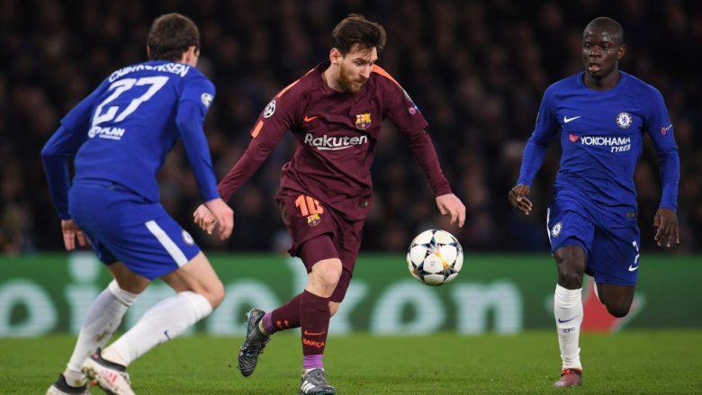 Formacionet e mundshme, Barcelona – Chelsea
