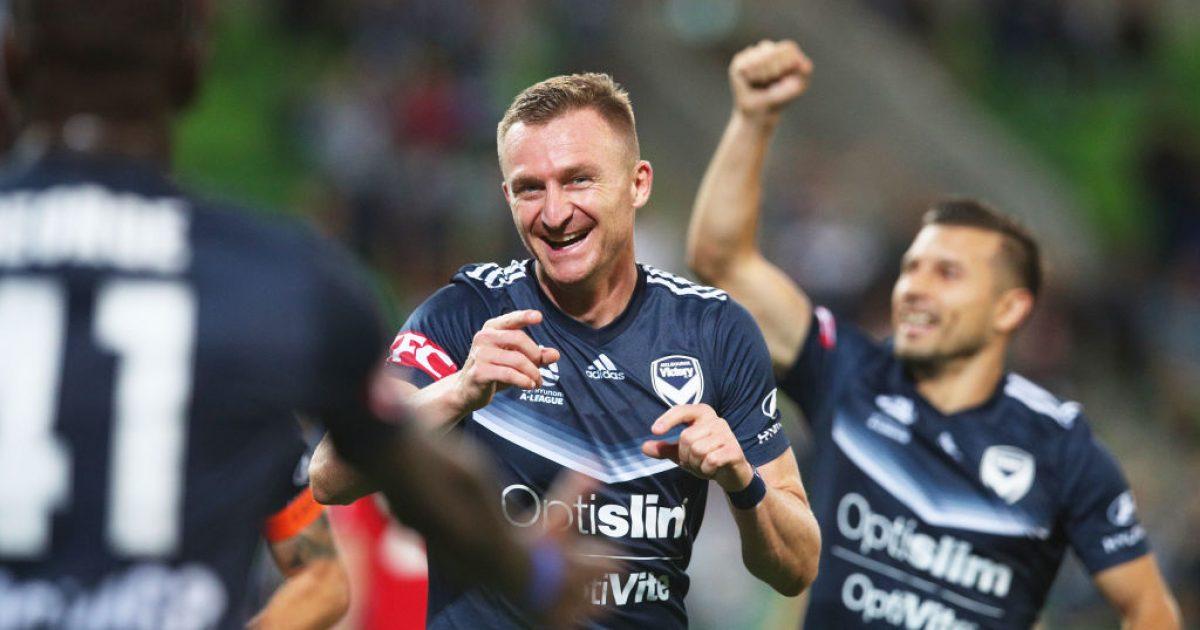 Berisha i pandalshëm  realizon het trik për Melbourne Victory
