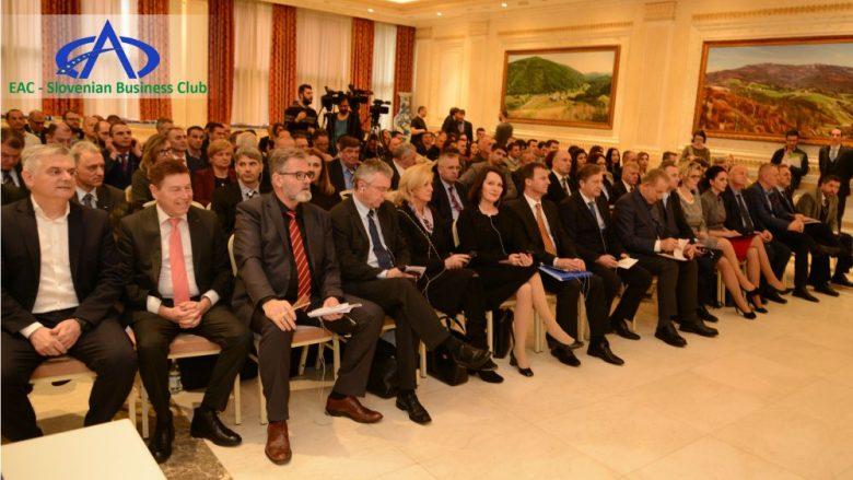 Në Prishtinë u mbajt Forumi më i madh ekonomik në mes të Kosovës dhe Sllovenisë