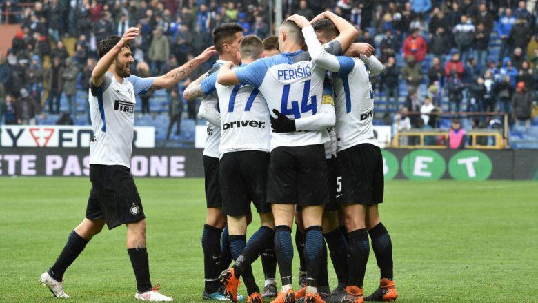 Interi shkatërron Sampdorian në udhëtim, Icardi shënon katër gola