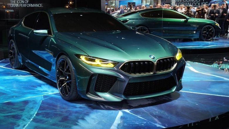 Koncepti i BMW M8 Gran Coupe, i mahnitshëm në lëvizje (Video)