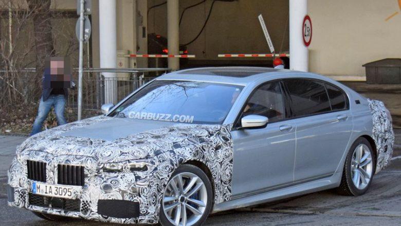 Konkurrenca e fortë e detyron BMW 7 Series, t'i nënshtrohet rifreskimeve të parakohshme (Foto)