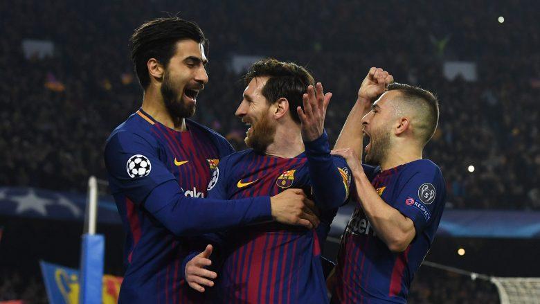 Barça shkon në çerekfinale, Chelesa në shtëpi