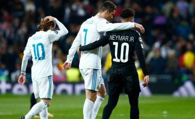 Neymar dëshiron t'i bashkohet Ronaldos te Real Madridi