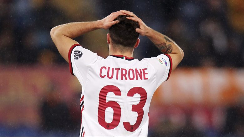 Patrick Cutrone gjatë ndeshjes kundër Romës (Foto: Getty Images)