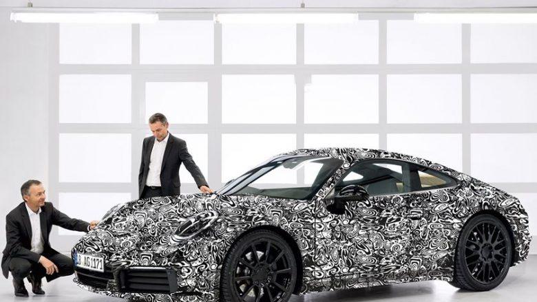 Porsche konfirmon ardhjen e hibridit elektrik 911 (Foto)