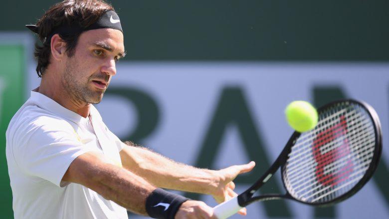 Nuk ndalet Federer në Indian Wells, mposht edhe Krajinovicin