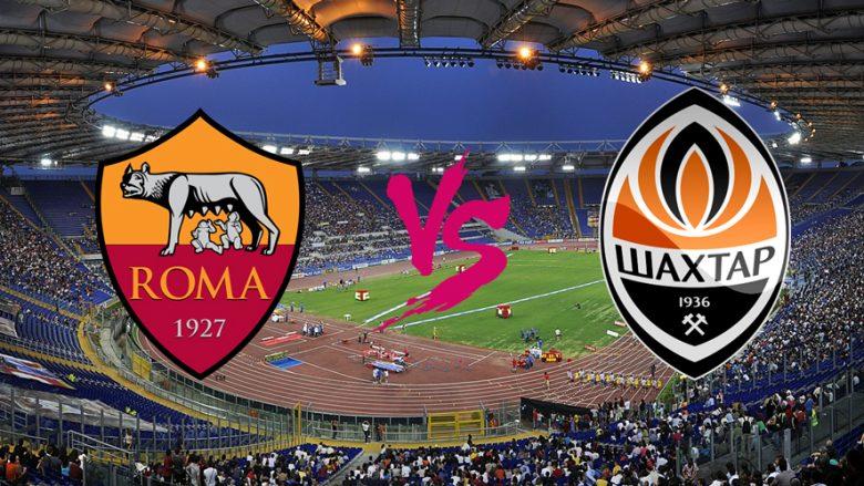Formacionet startuese: Roma duhet të fitojë ndaj Shakhtarit