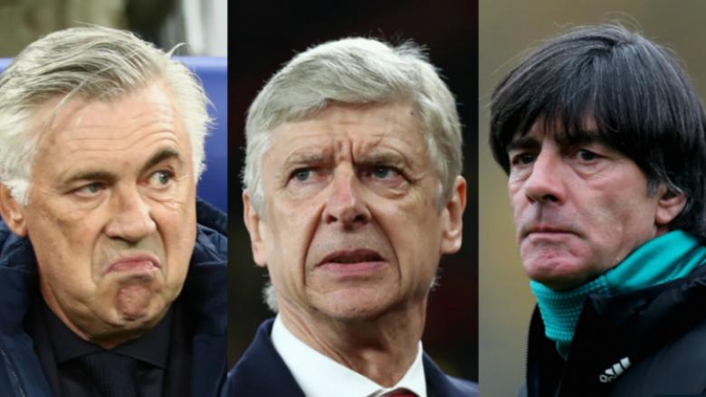 Wenger pritet të largohet në fund të sezonit, dhjetë emra janë në listën e drejtuesve për trajnerin e ri