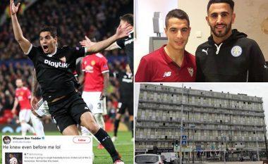 Kush është Ben Yedder, njeriu që e eliminoi i vetëm Unitedin - Vjen nga zona më e rrezikshme e Parisit, i rritur me Riyad Mahrezin dhe karrierën e nisi me futsall