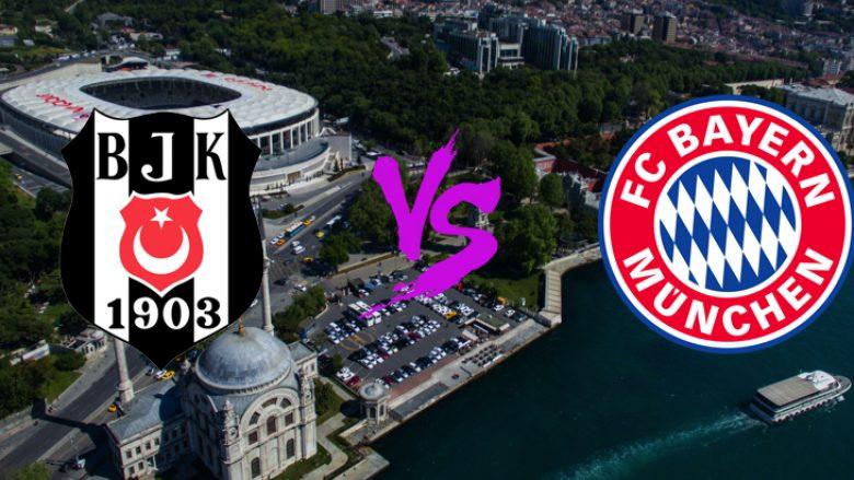 Formacionet bazë: Bayerni pret të konfirmohet si çerekfinalist ndaj Besiktasit