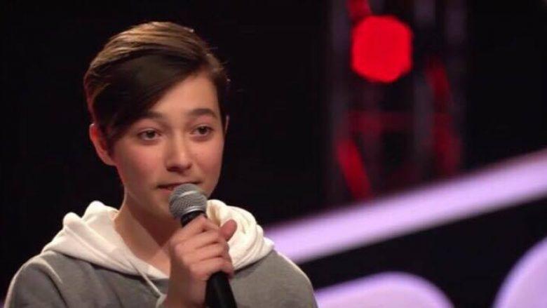 """13-vjeçari nga Kosova, Besim Karpuzi, mahnit jurinë e """"The Voice Kids"""" në Gjermani"""