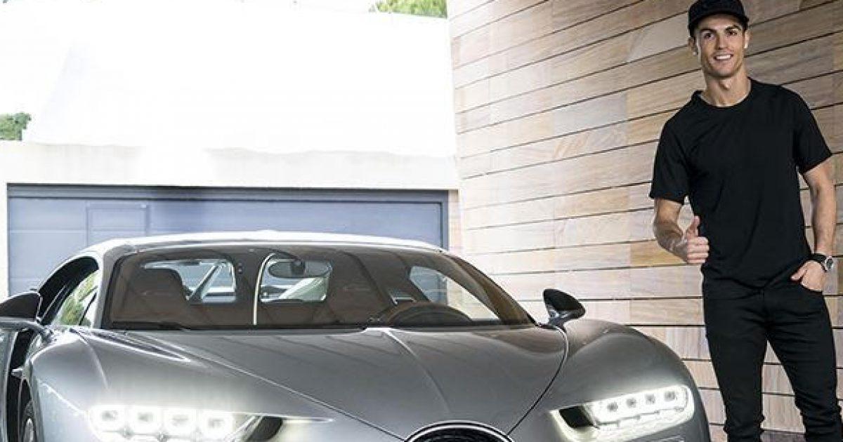 Të zgjohesh pranë një Bugatti të ri  luksi i Cristiano Ronaldos