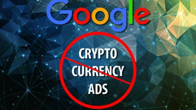 Google do të ndalojë reklamat për kriptovaluta