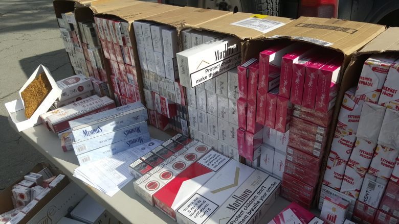 Dogana e Kosovës konfiskon cigare pa banderola