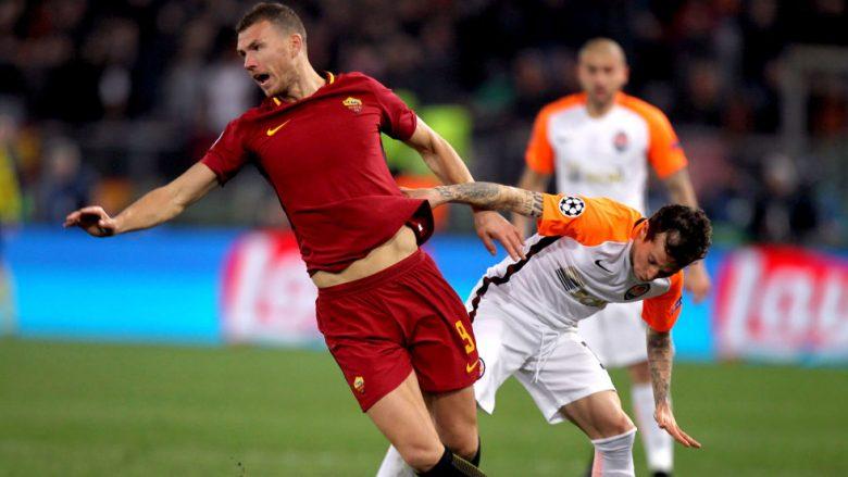 Notat e lojtarëve: Roma 1-0 Shakhtar Donetsk, Dzeko vendimtar