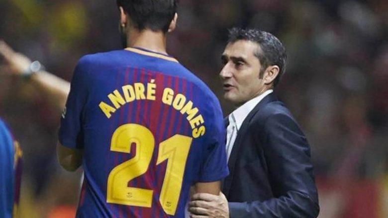 Valverde i del në mbrojtje Andre Gomesit: U tregua i guximshëm që foli