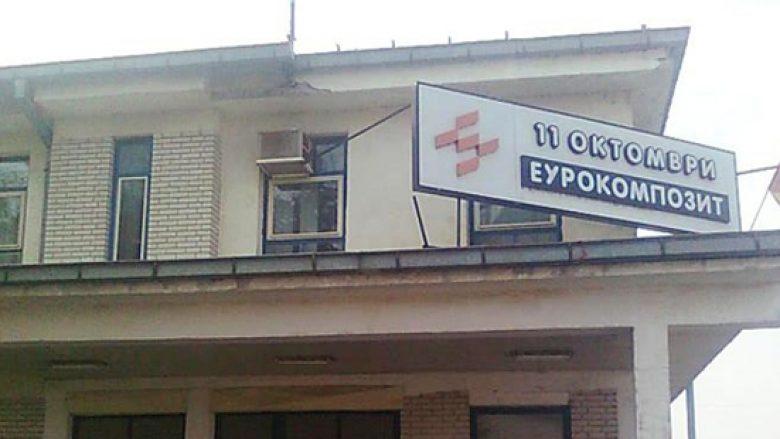 """Te punësuarit në """"Eurokompozit"""" pajtohen me falimentim të fabrikës"""