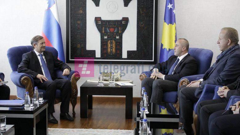Haradinaj: Kosova ruan miqësi të mirë me popullin slloven dhe kjo duhet të vazhdojë