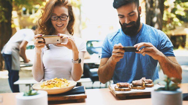 Duke postuar fotografi të ushqimit në Instagram, vetëm sa shtoni peshë më shumë