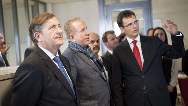 Zëvendëskryeministri slloven dhe ai kosovar, vizitojnë IPKO-në