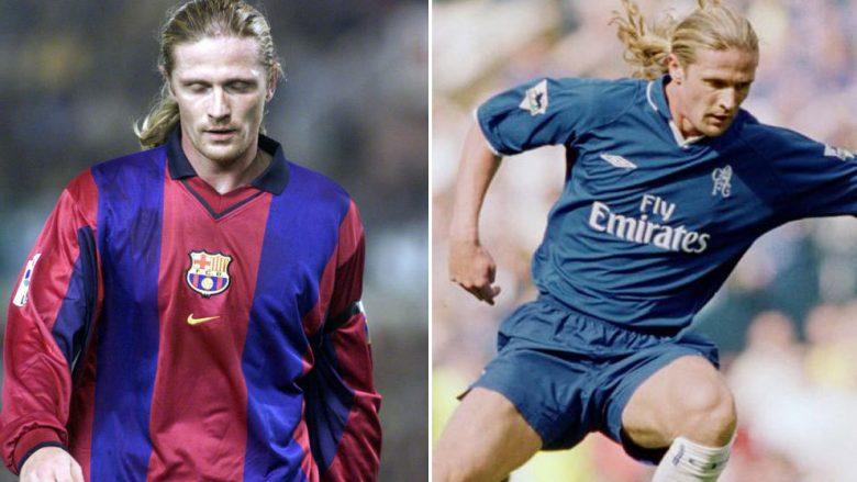 Trembëdhjetë lojtarët që kanë luajtur për Chelsean dhe Barcelonën