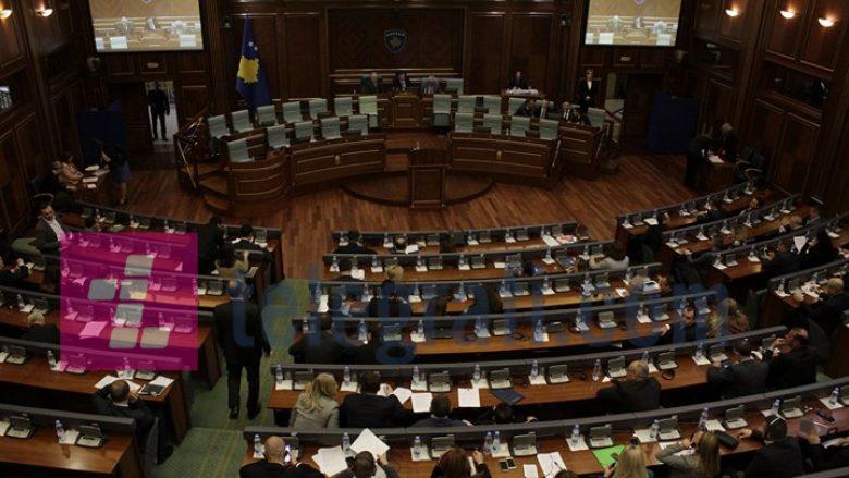 Fillon seanca e Kuvendit, nuk votohen rekomandimet e LDK-së dhe VV-së lidhur me vendimin për pagat