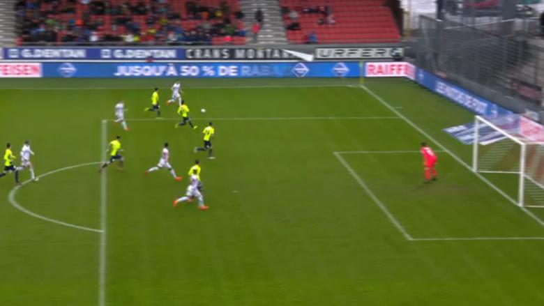 Lenjani shënon supergol në fitoren e thellë të Sionit ndaj Thunit (Video)