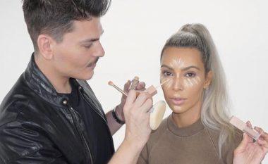 Grimeri shqiptar i Kim Kardashian, Mario krijon kozmetikë me emra shqip!