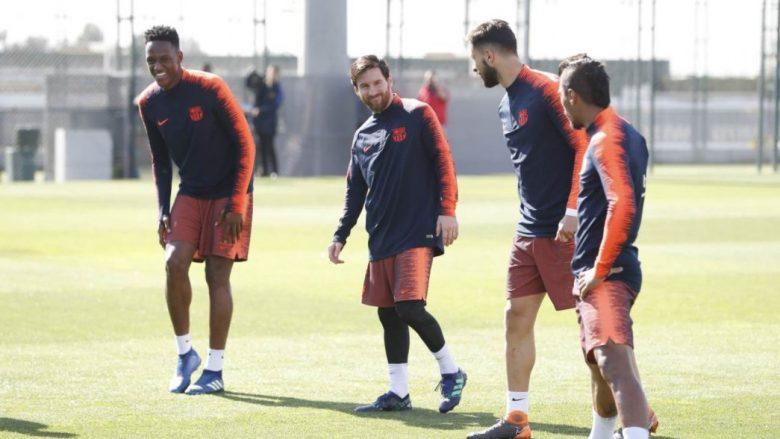 Messi rikthehet në stërvitje te Barça, Ter Stegen gjithashtu
