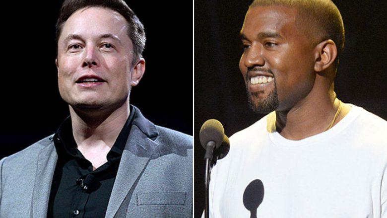 Elon Musk thotë se inspirohet nga Kanye West