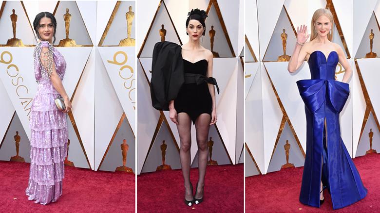 Këto dama kanë veshur fustanet më të këqija në ndarjen e çmimit Oscars (Foto)