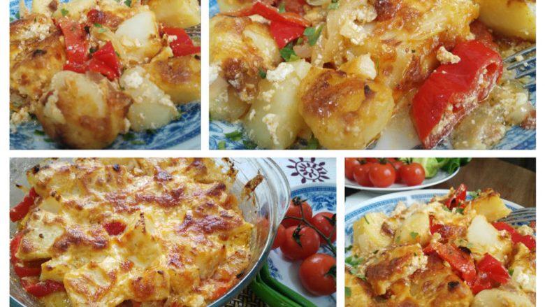 Patate super të mira me ajkë: Propozim i shkëlqyeshëm për drekë dhe darkë!