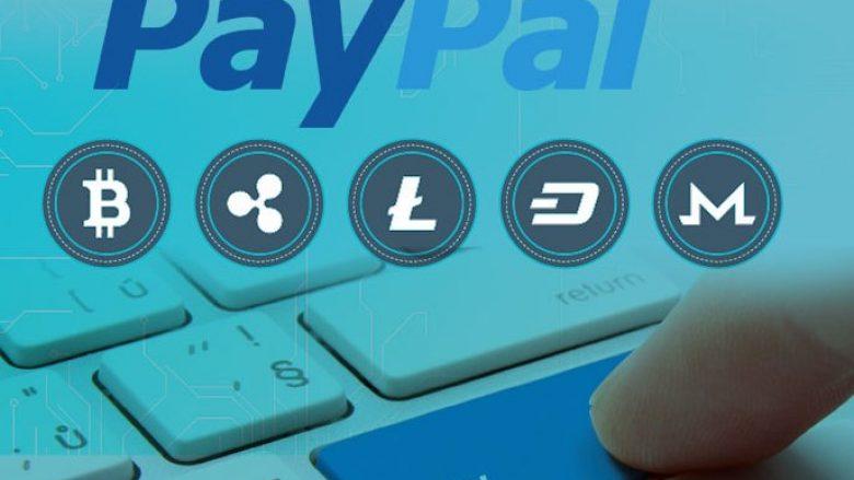 PayPal aplikon për patentë për pagesa me kriptovaluta