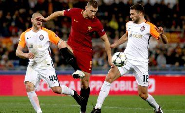 Roma në çerekfinale, eliminon Shakhtarin