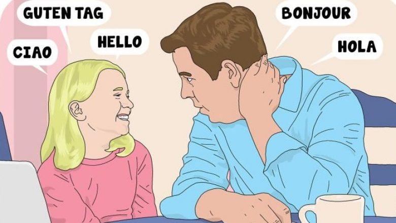 Si t'ia mësoni fëmijës disa gjuhë të huaja pa shpenzuar para