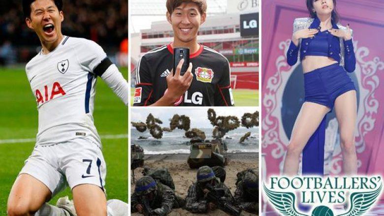 Heung-Min Son, ylli i Tottenhamt nga Koreja e Jugut – Ai duhet ta kryejë ushtrinë, ka të dashura yjet e muzikës koreane dhe ka nënshkruar kontrata të mëdha për klubet ku ka luajtur