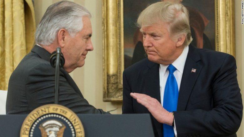 Presidenti Trump shkarkon Sekretarin e Shtetit, Rex Tillerson