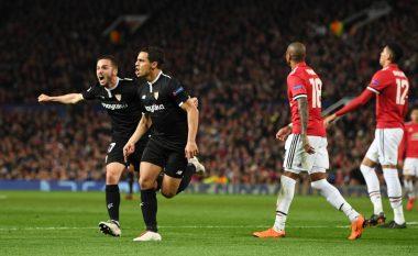 Sevilla eliminon Manchester Unitedin në Old Trafford