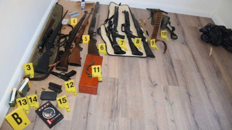 Prokuroria sqaron rastin e Mramorit, ku u kap arsenal armësh