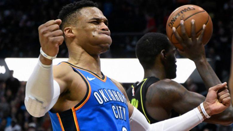Fitorja e radhës nga Clevelandi, OKC fiton falë triple doubles së 100-të nga Westbrook