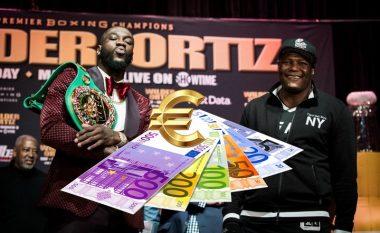 Wilder - Ortiz, fitimet që pritet të marrin boksierët pas meçit