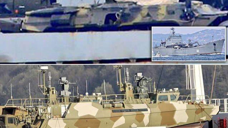 Dy luftanije ruse të mbushura me tanke, autoblinda e armë tjera nisen drejt Sirisë (Foto)