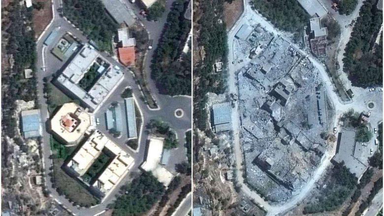 Assad pretendon se raketat amerikane nuk i kanë shkaktuar dëme, imazhet satelitore dëshmojnë të kundërtën (Foto/Video)