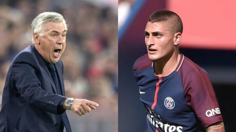 Verratti preferon që Ancelotti të jetë trajner i Përfaqësueses së Italisë
