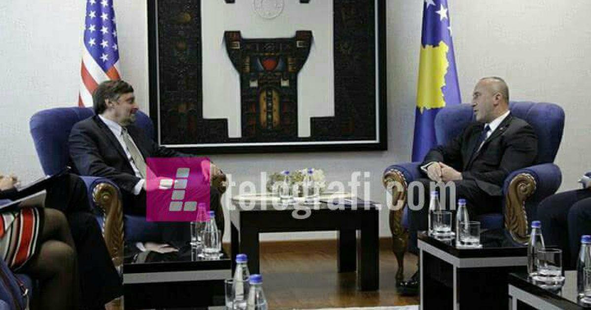 Haradinaj dhe Palmer flasin për ushtrinë dhe dialogun
