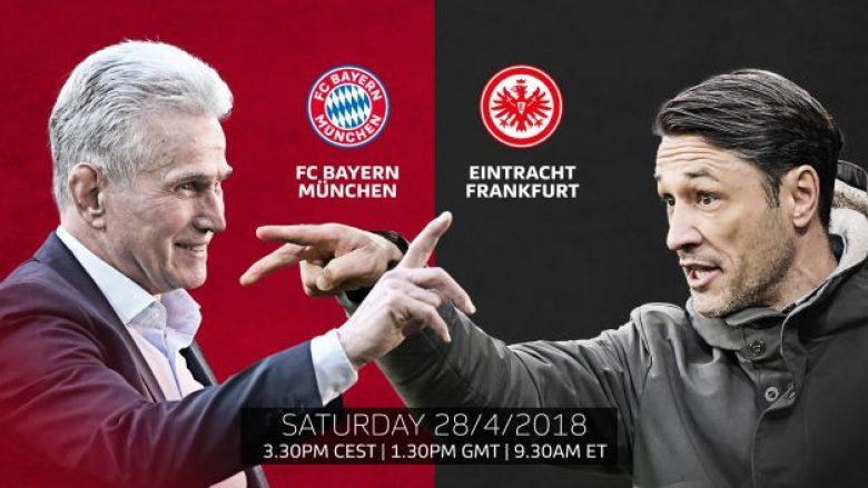 Bayern Munich – Eintracht Frankfurt: Formacionet startuese, talenti shqiptari starton te bavarezët