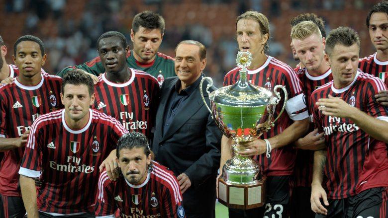 Berlusconi: Herët apo vonë do ta blej Milanin përsëri